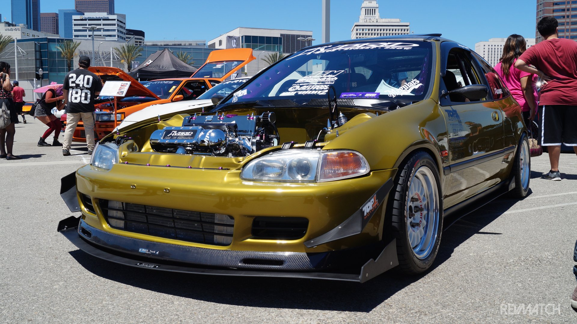 Classics And Chrome Car Show
