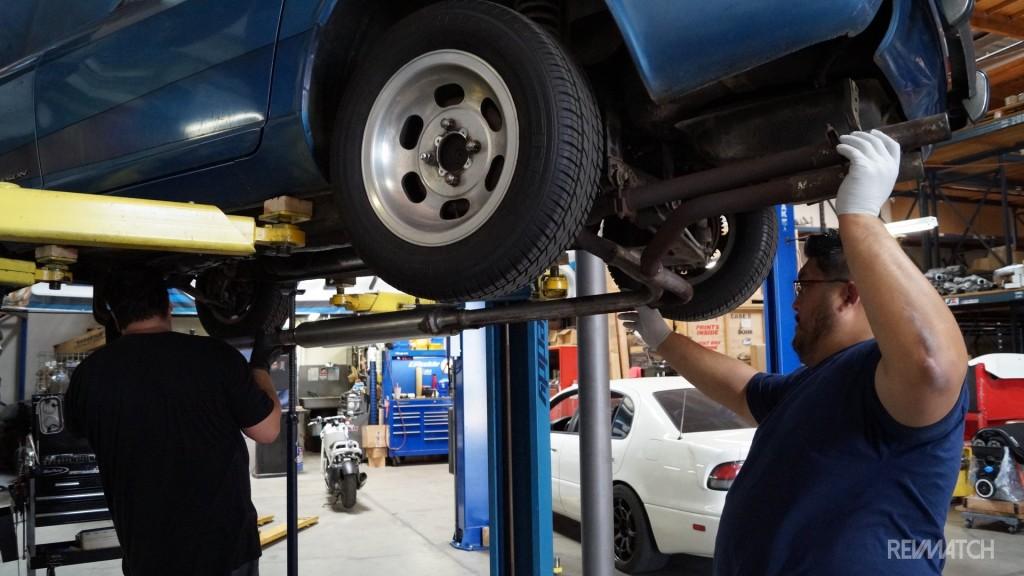 Kyusha beginnings Exhaust removal