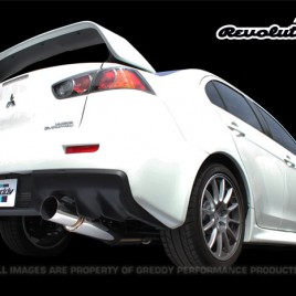 GReddy Revolution RS Exhaust Mitsubishi Evolution X