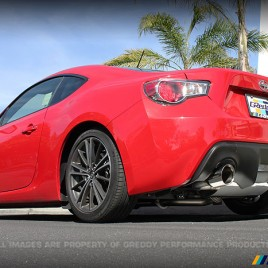GReddy Supreme SP Cat back Exhaust Scion FR-S Subaru BRZ